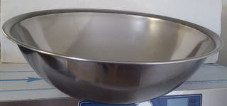Stainless Steel Mixing Bowl 10L - New - $21.40 + GST