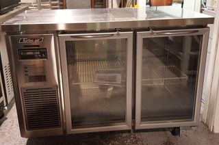 Turbo Air 2 Glass Door Under Bench Chiller - New - $2995 + GST