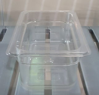 Polycarbonate Clear GN 1/4 - 100mm - Item JD-P1410