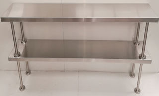 Stainless Steel Double Over Shelf 1200mm - New - $349 + GST