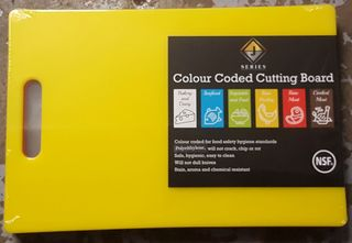 Chopping Board Yellow - New - $22.50 + GST