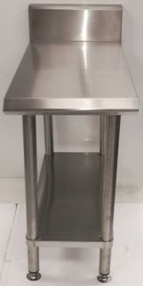 Stainless Steel Infill Bench Blue Seal Profile 400mm - New - $565 + GST