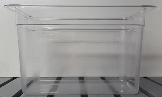 Polycarbonate Clear GN Food Pan 1/2 - 200mm - Item 1220