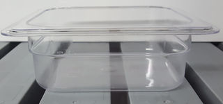 Polycarbonate Clear GN Food Pan 1/6 - 65mm - Item P1606 - 15% off for August only