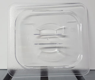 Polycarbonate Clear GN Food Pan 1/6 - Lid - Item JD-P1601 - 15% off for August only