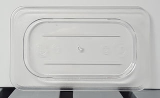 Polycarbonate Clear GN Food Pan 1/9 Lid - JD-P1901