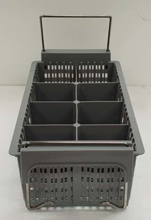 Cutlery Basket 8 Section Grey with Handles - New - $24.95 + GST