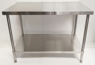 Stainless Steel Flat Workbench - 1200mm - New - $529 + GST