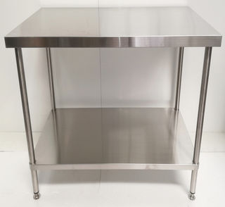 Stainless Steel Flat Workbench - 900mm - New - $449 + GST