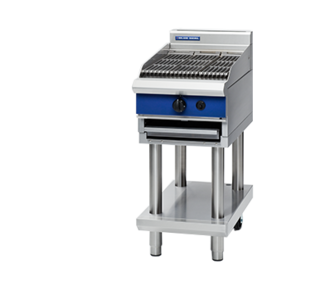 Blue Seal Char Grill on Leg Stand (450mm) - Nat Gas / LPG - New - $3612 + GST