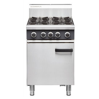 Cobra 4 Burner with Static Oven - New - $2950 + GST