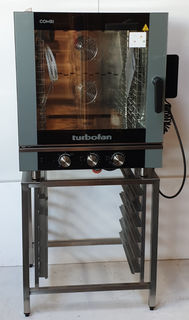 Turbofan Electric Convection Combi Oven with Stand - Used - $6794 + GST