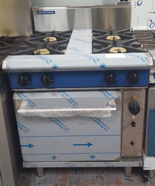 blue seal 4 burner convection oven item special order. Black Bedroom Furniture Sets. Home Design Ideas