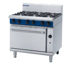 Blue Seal 6 Open Burner with Static Oven - Special Order