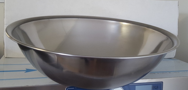 Stainless Steel Mixing Bowl 18L - Used - $37.40 + GST