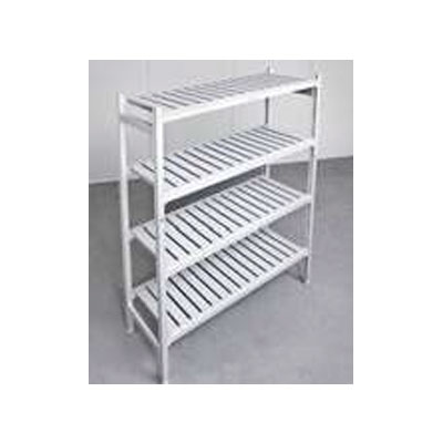 CCE Aluminum Shelving 4 Tier 1225mm x 610 x 2000 - Item JD-SL48243