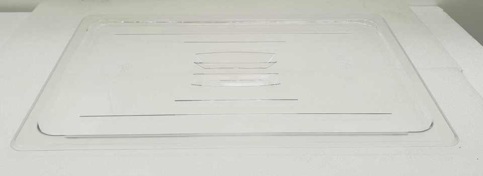Polycarbonate Clear GN 1/1 - Lid - New - $14.50 + GST