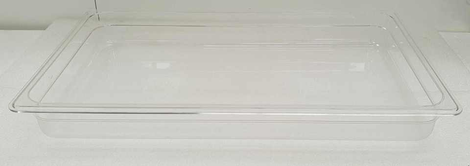 Polycarbonate Clear GN 1/1 - 65mm - New - $16.95 + GST