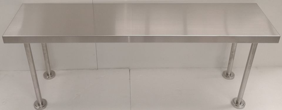 Stainless Steel Single Over Shelf - New - $239 + GST