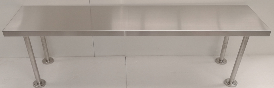Stainless Steel Single Over Shelf - New - $279 + GST