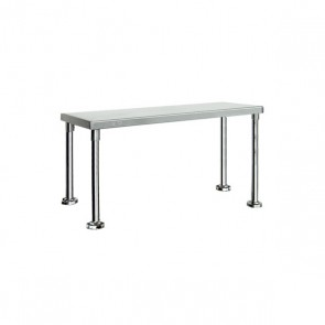 Stainless Steel Single Over Shelf - Item BOS15030