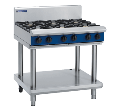 Blue Seal 6 Burner on Leg Stand - Item Special Order