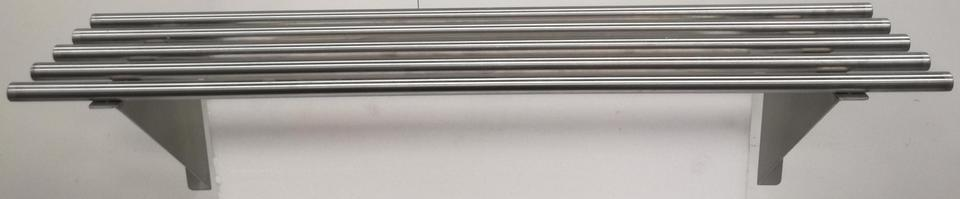 Stainless Pipe Wall Shelf 1200mm - New - $199 + GST