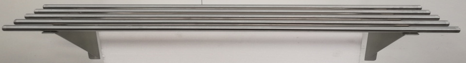 Stainless Pipe Wall Shelf 1800mm - New - $249 + GST