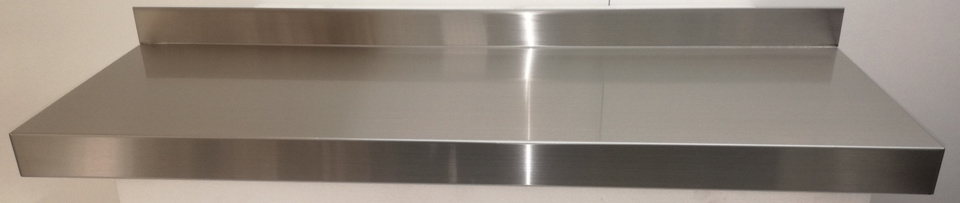 Stainless Steel Solid Wall Shelf 900mm - New - $145 + GST