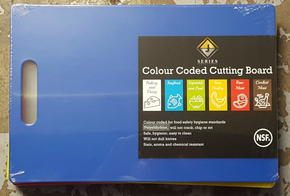 Chopping Board Blue - New - $22.50 + GST