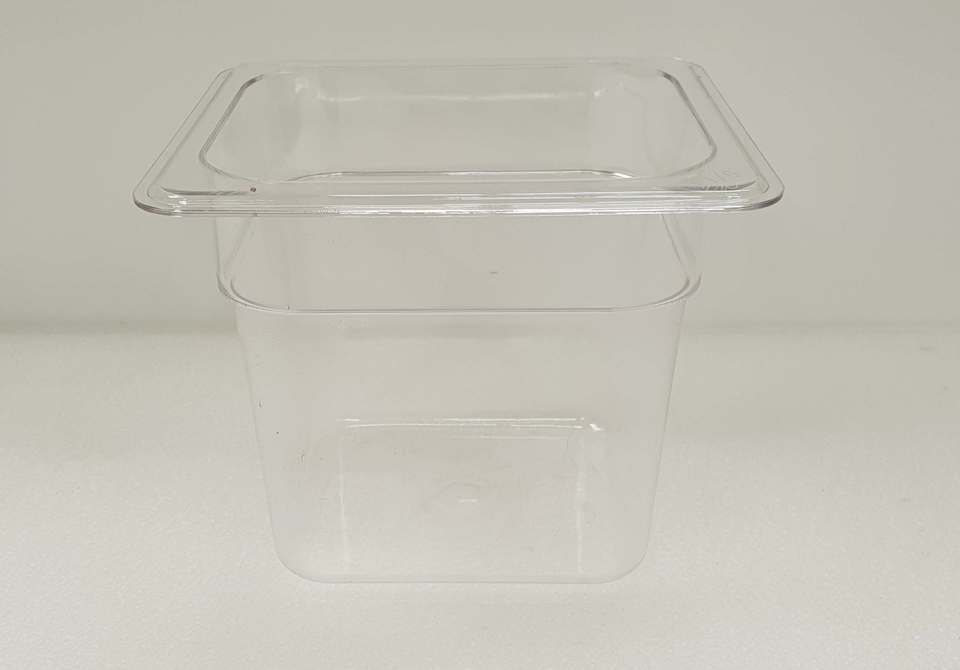 Polycarbonate Clear GN Food Pan 1/6 - 150mm - New - $10.50 + GST