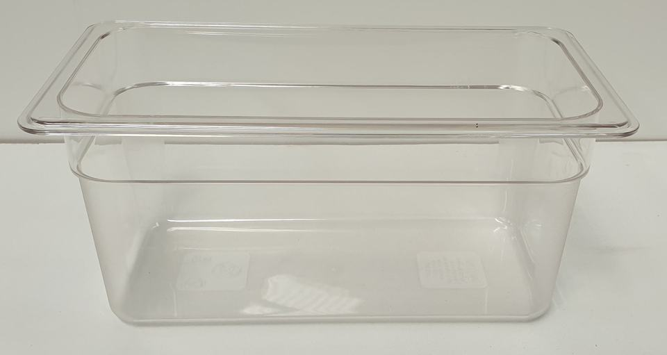 Polycarbonate Clear GN Food Pan 1/3 - 150mm - New - $15.95 + GST