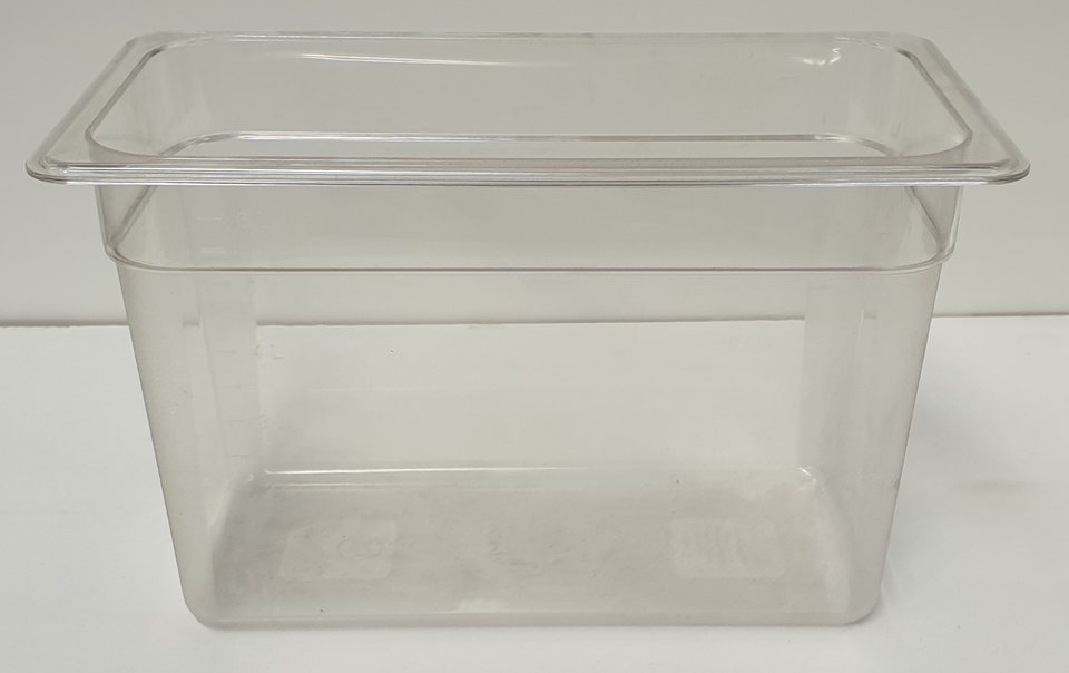 Polycarbonate Clear GN Food Pan 1/3 - 200mm - New - $22.50 + GST