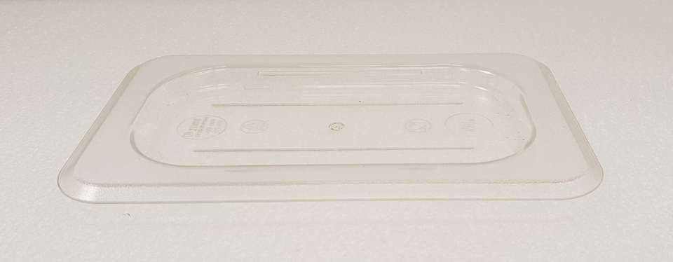 Polycarbonate Clear GN Food Pan 1/9 Lid - New - $3.95 + GST