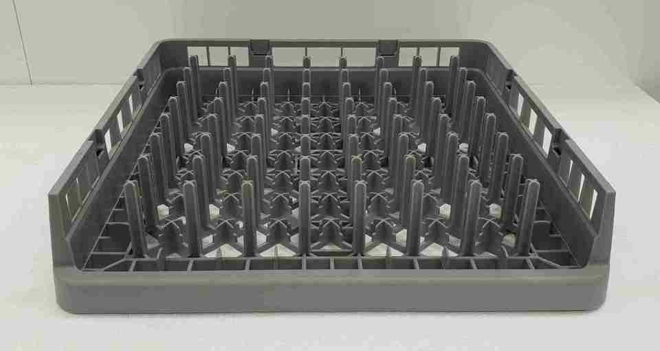 Plate and Tray Rack with 64 Peg Open One Side - New - $33.95 + GST