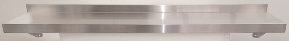 Stainless Steel Solid Wall Shelf 1500mm - New - $195 + GST