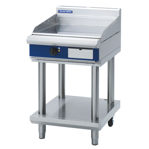 Blue Seal Griddle on Leg Stand (600mm) - Nat Gas / LPG - New - $4209 + GST