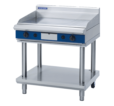 Blue Seal Griddle on Leg Stand (900mm) - Nat Gas / LPG - New - $5744 + GST