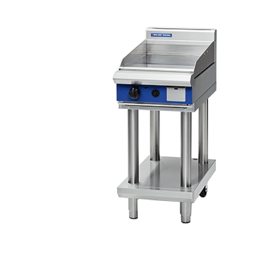BLue Seal Griddle on Leg Stand (450mm) - Nat Gas / LPG - New - $3200 + GST