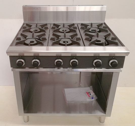 Cobra 6 Burner on Cabinet Base (LPG) - New - $2395 + GST
