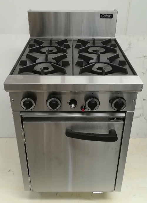 Cobra 4 Burner with Static Oven - New - $2310 + GST THATS 40% OFF RRP - $3850 + GST