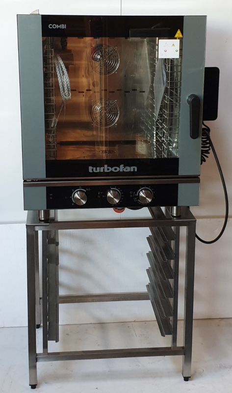 Turbofan Electric Convection Combi Oven with Stand - Used - $4794 + GST